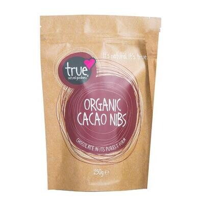 True Natural Goodness Organic Cacao Nibs 250g.