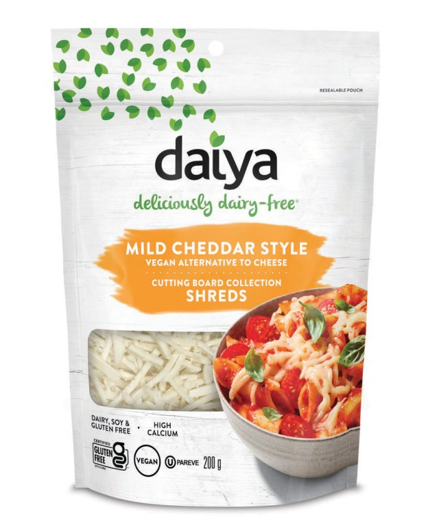 Daiya Grated Vegan Mild Cheddar 200g