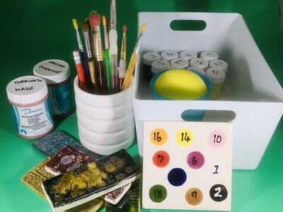 Firefly Clay Course Takeaway Kit