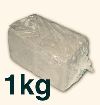 White Earthenware Clay 1 Kilo