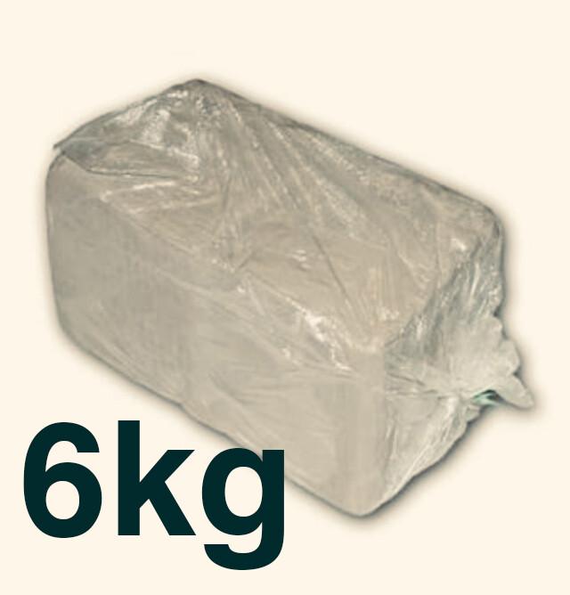 6 kilo White Earthenware Clay (half bag)