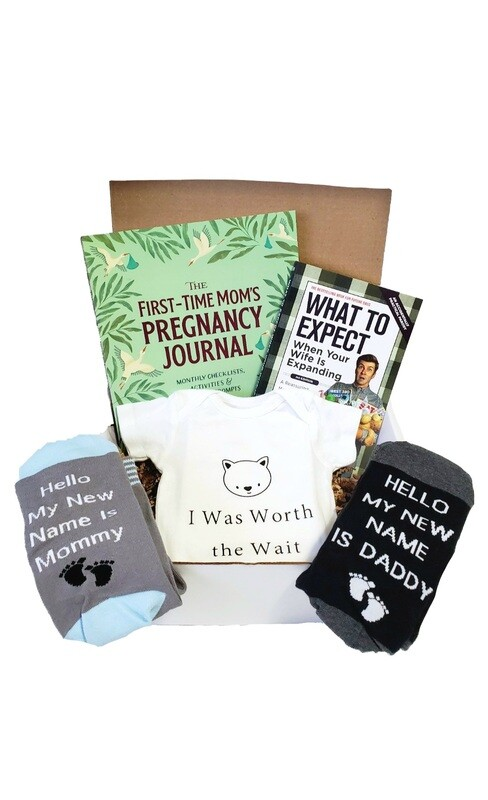 Expectant Mommy & Daddy Gift Box