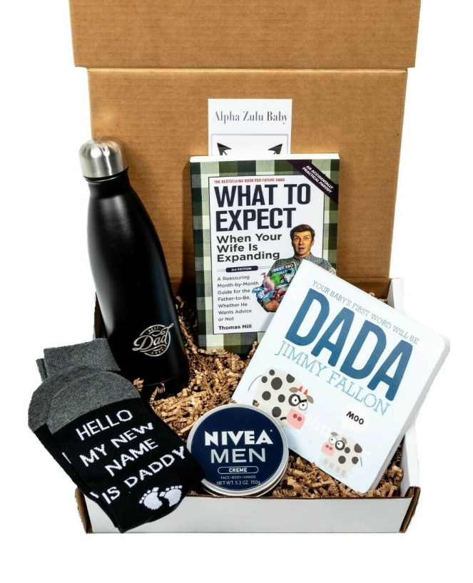 Expectant Daddy Gift Box