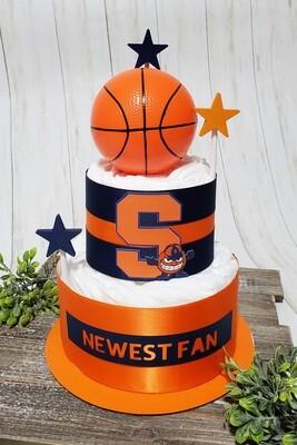Newest Sports Fan Diaper Cake