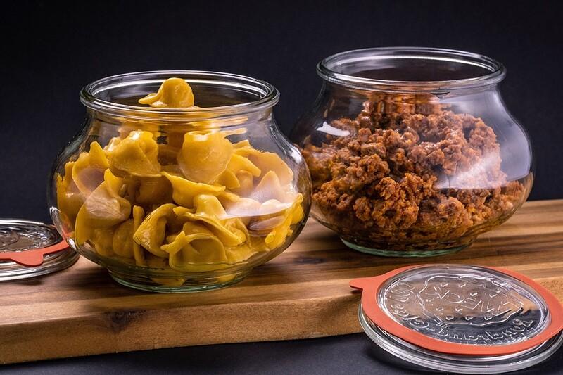 Box 4 porzioni cappelletti al ragù tradizionale romagnolo
