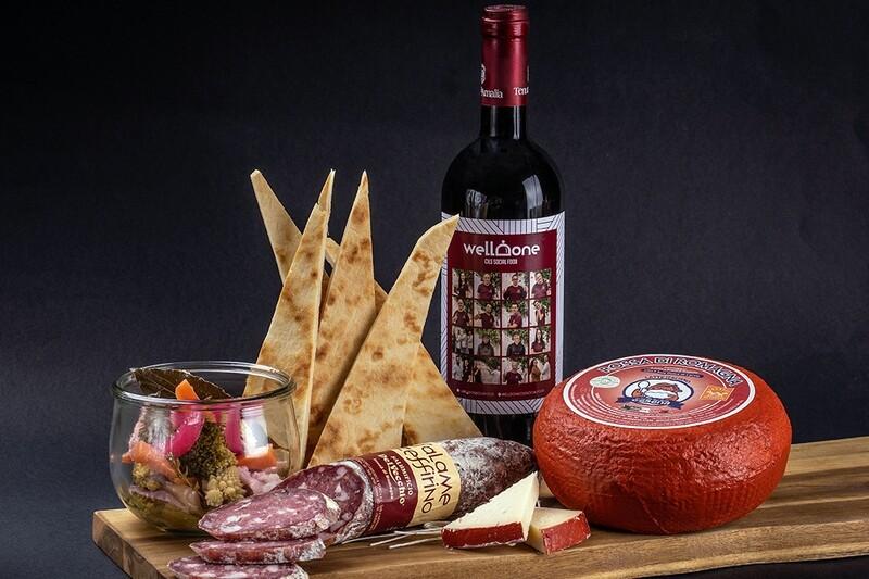Menu aperitivo romagnolo (4 pers)