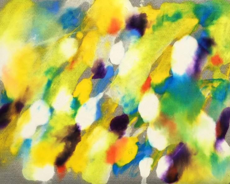 Splendid, Emma Neuberg, acrylic on polyester, 24 x 30 inches, (33cm x 43cm), 2020.
