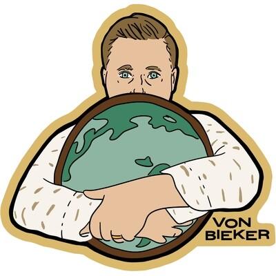 Sticker - Globe Hugger