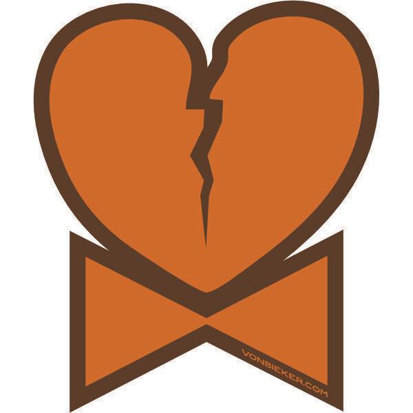 Sticker - Bow Ties & Broken Hearts