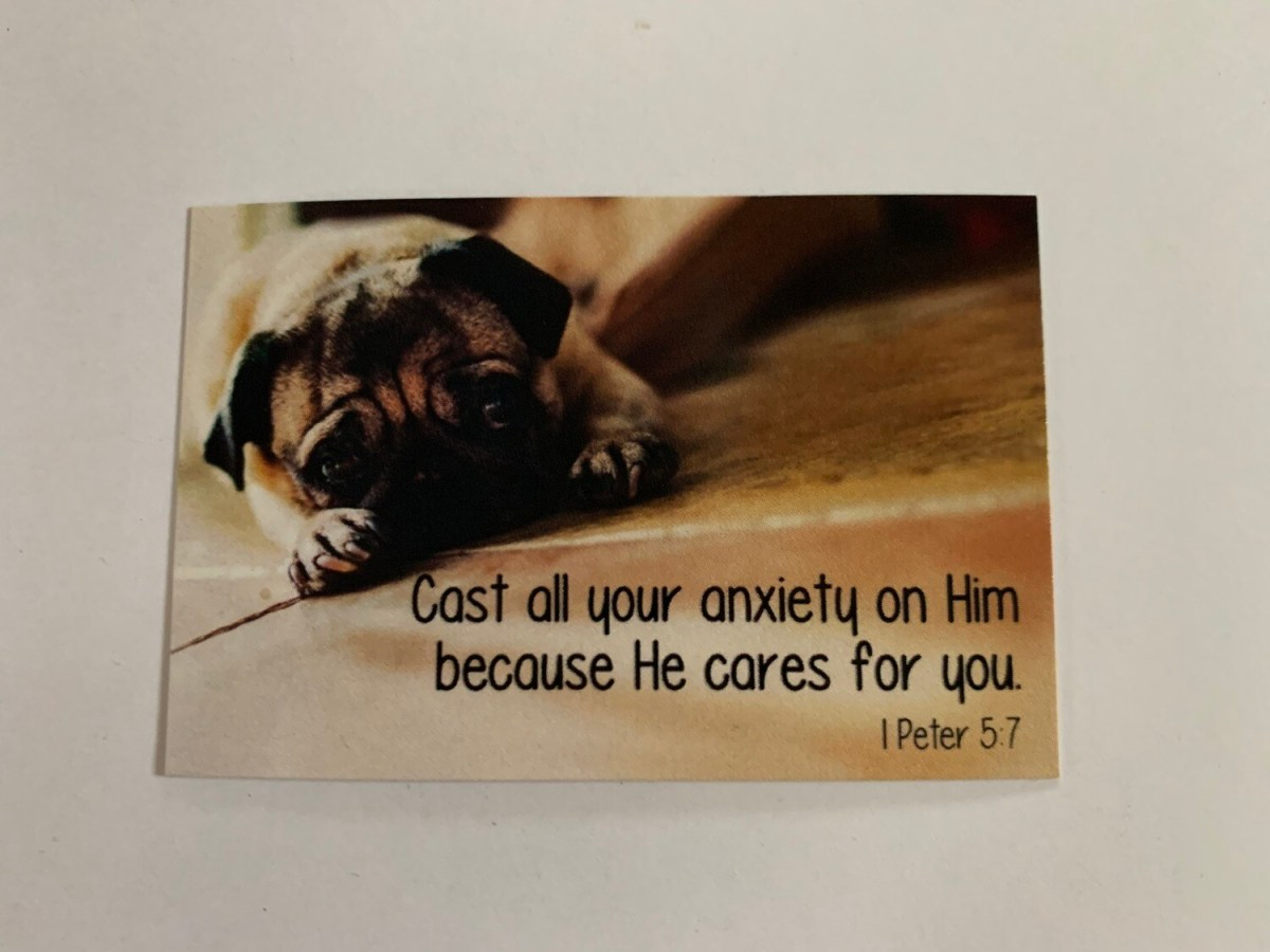 Pass It On - Cast All Your Anxiety 1 Pet. 5:7