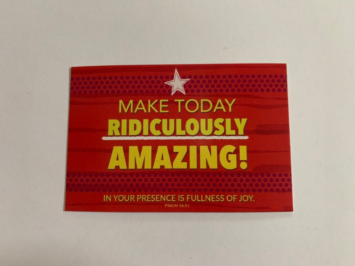 Pass It On - Make Today Ridiculously