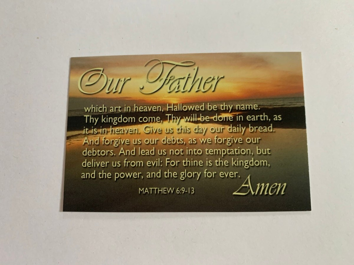 Pass It On - Our Father Matt. 6:9-13