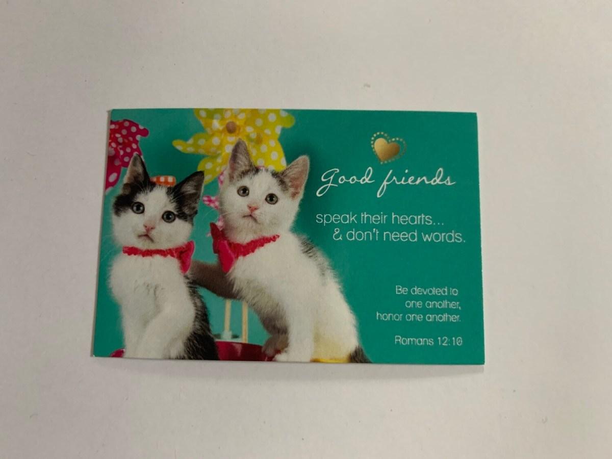 Pass It On - Good Friends Speak Rom. 12:10