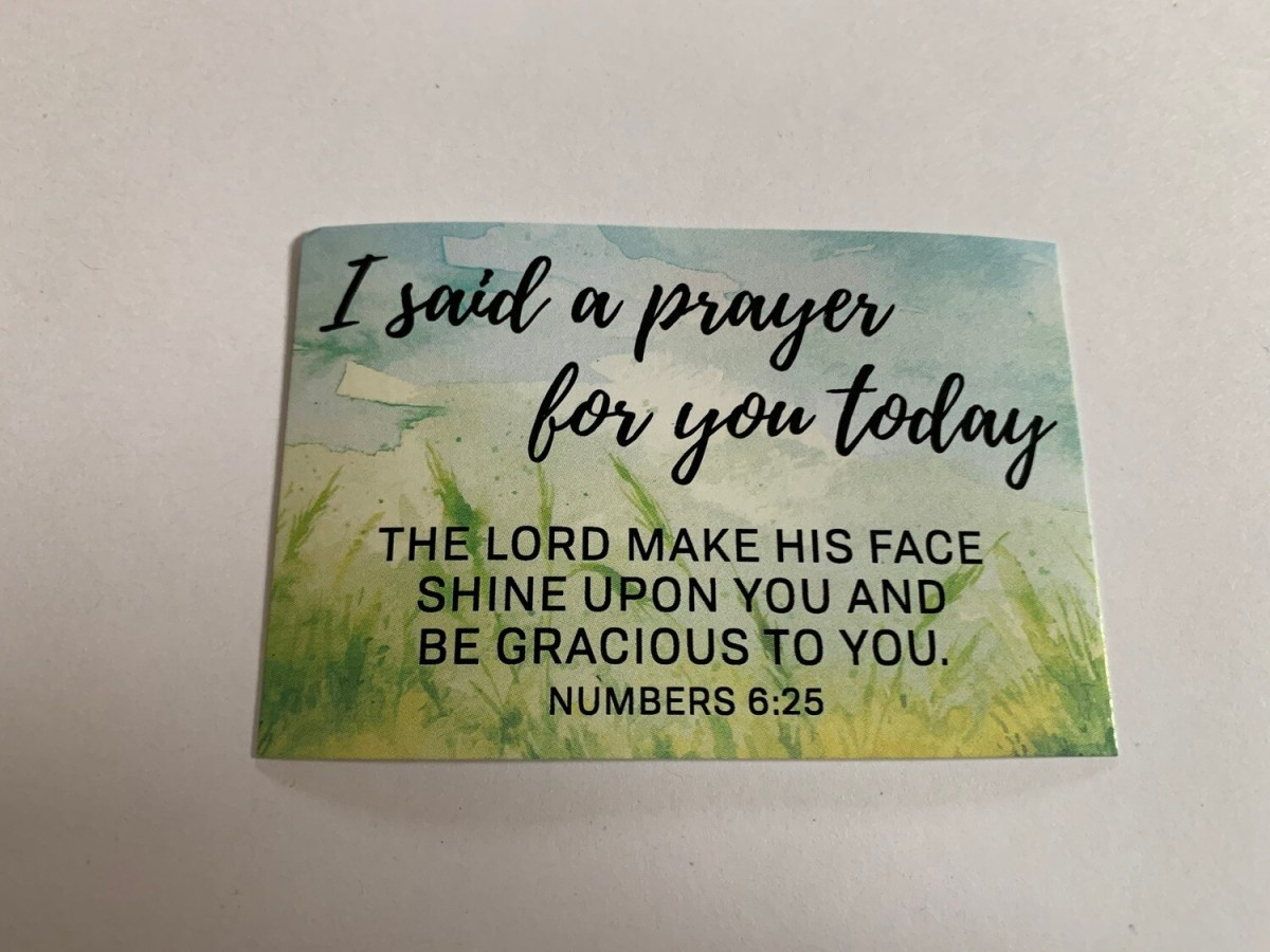 Pass It On - I Said a Prayer for You Today