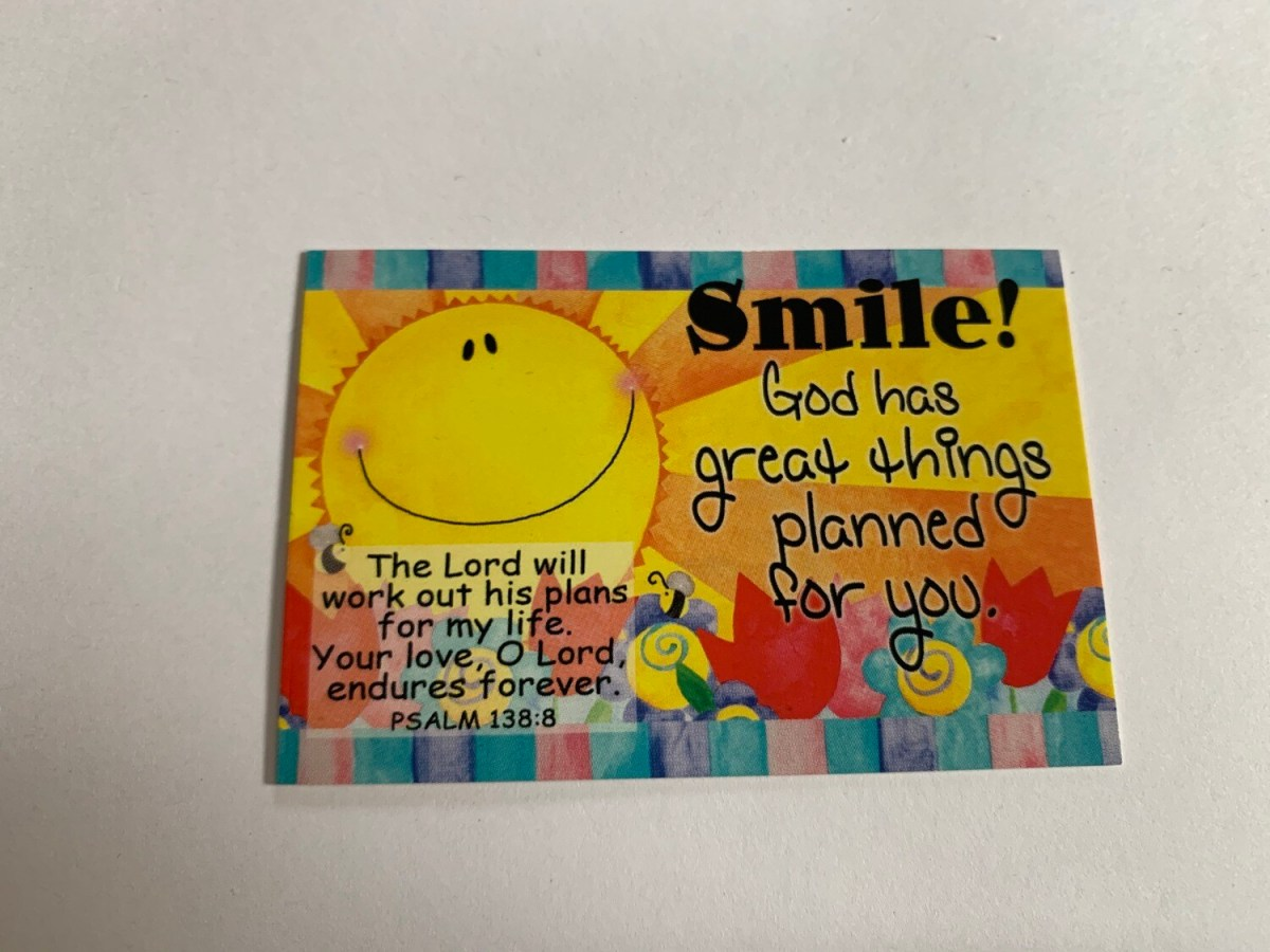 Pass It On - Smile! Psalm 138:8