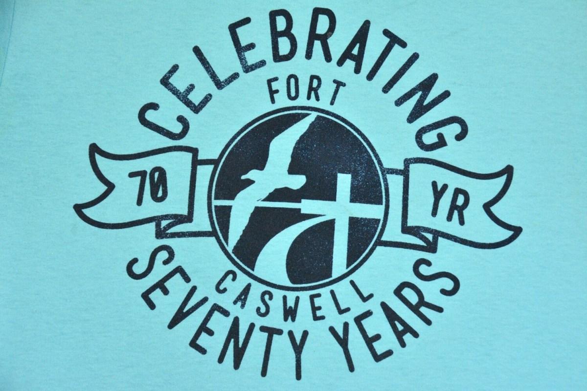 70 Year Blue Shirt