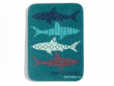 Mini Shark Sticker