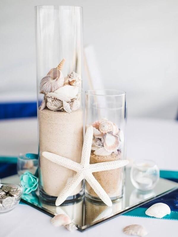 Glass Cylinder Vase 16