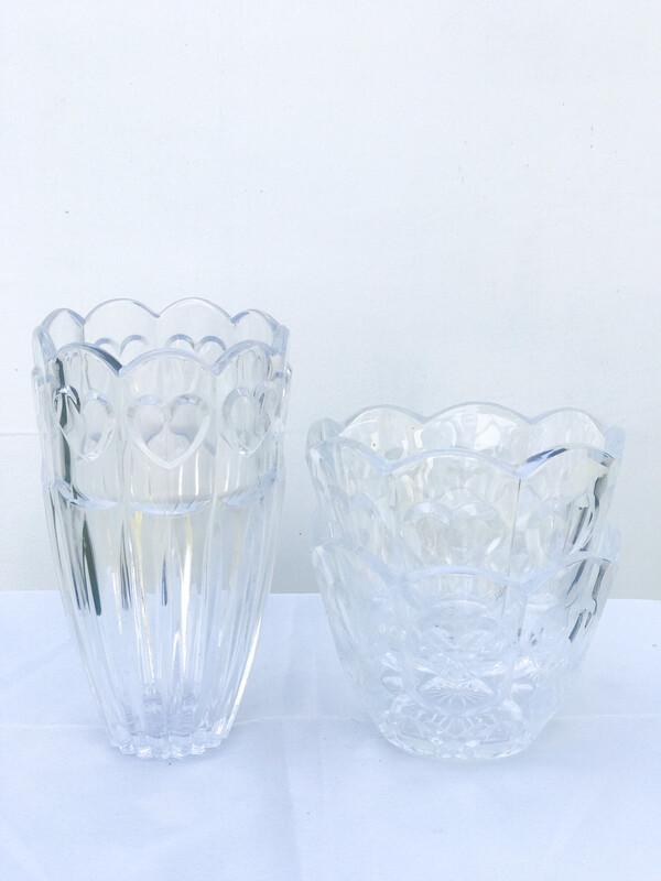 Heart Glass Vase