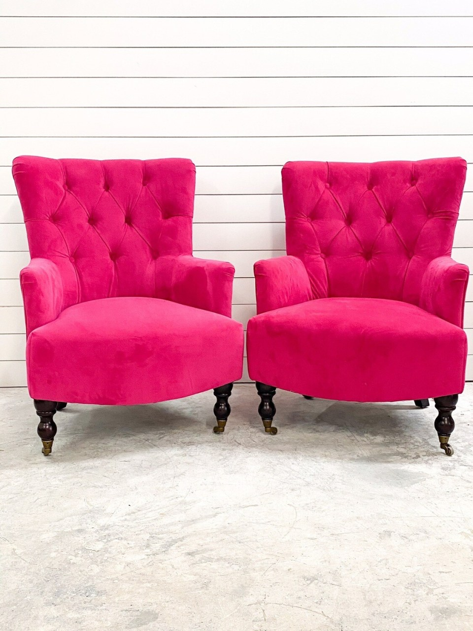 Louise Hot Pink Chair