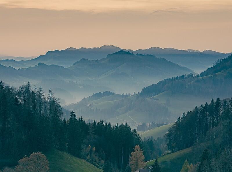 Toggenburg im Herbst