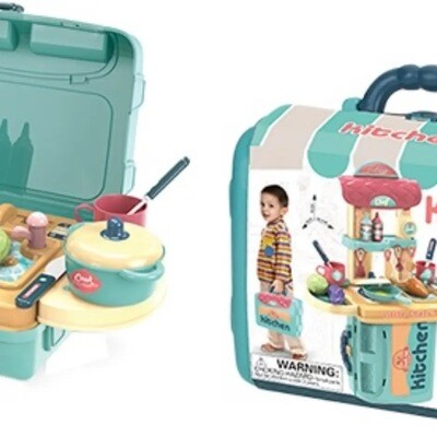Chef Kitchen Playset in a Case, 36 pcs