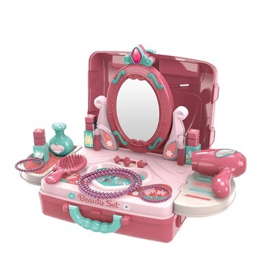 Beauty Vanity Playset in a Case, 22 pcs