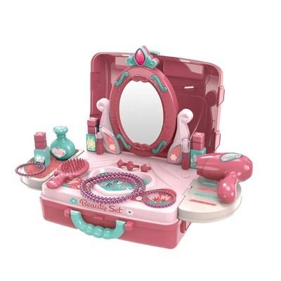 Beauty Vanity Playset in a Case, 22 pcs