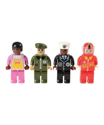 Diverse Brick Figurines - Set of 50