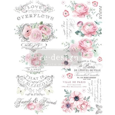Prima Decor Transfer: Overflowing Love