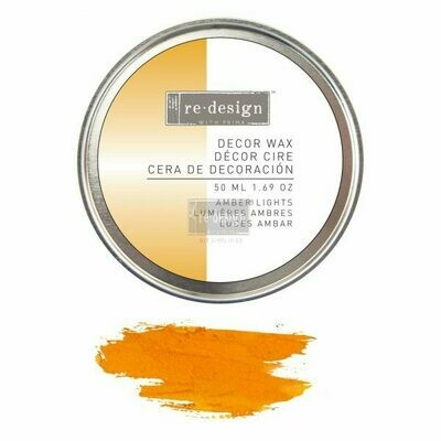 Decor Wax: Amber Lights