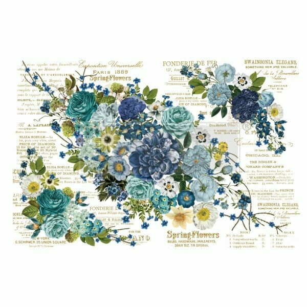 Prima Decor Transfer: Cosmic Roses