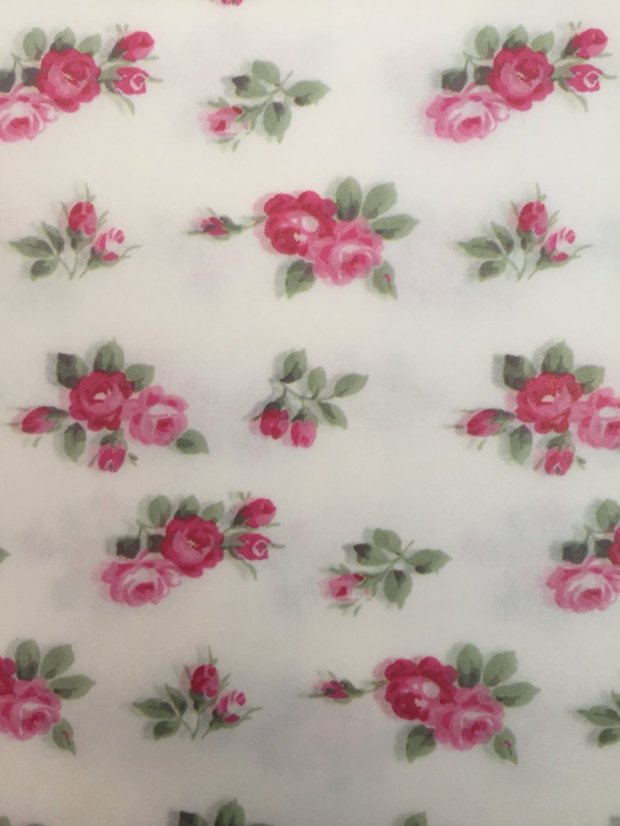 Decoupage Paper: Tossed Roses
