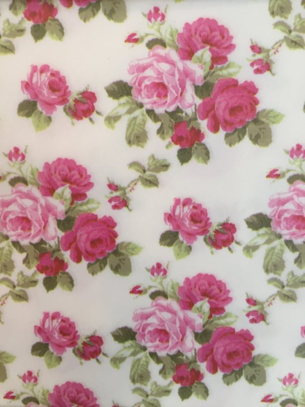 Decoupage Paper: Rose Bouquet
