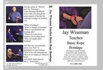 Jay Wiseman Teaches Basic Rope Bondage [Deb, no longer available.]