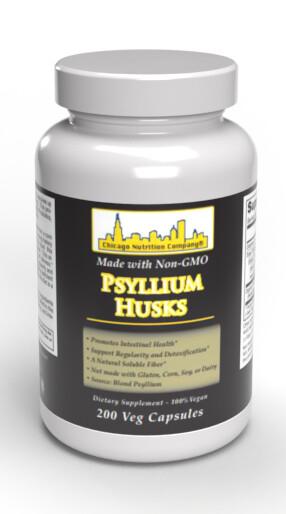 Psyllium Husks - 200 Caps