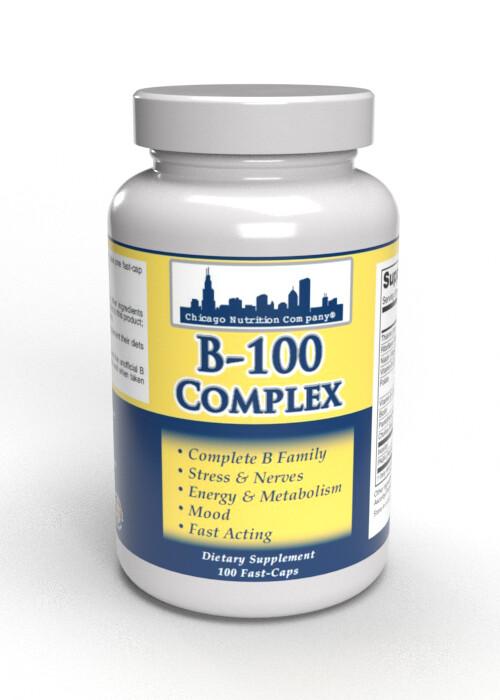 B-100 Complex - 100 Fast Caps
