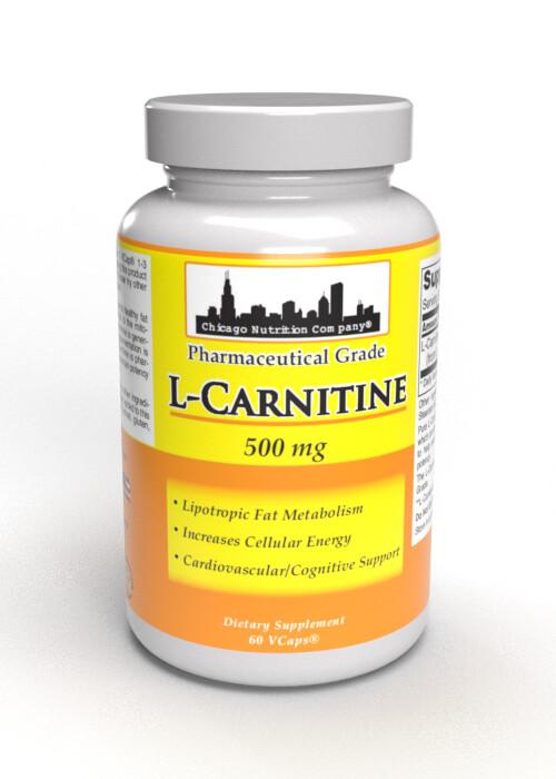 L-Carnitine  500 mg - 60 Veg Caps