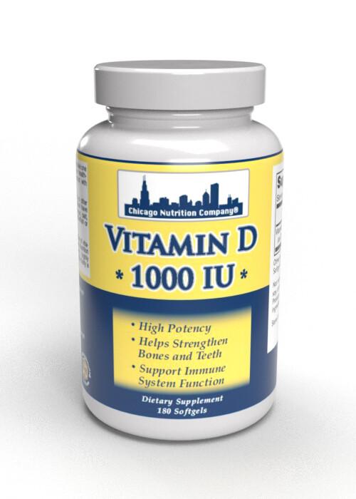 Vitamin D  1000 IU - SoftGels