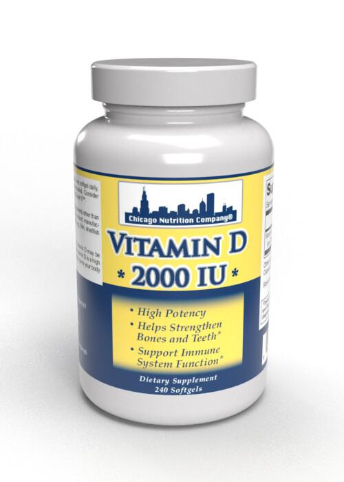 Vitamin D  2000 IU - 240 Softgels
