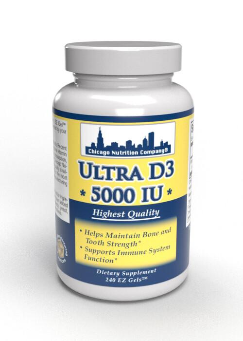 Vitamin D3  5000 IU - 240 SoftGels