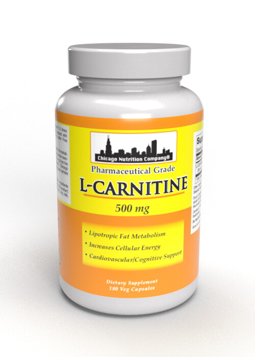 L-Carnitine  500 mg - 180 Veg Caps