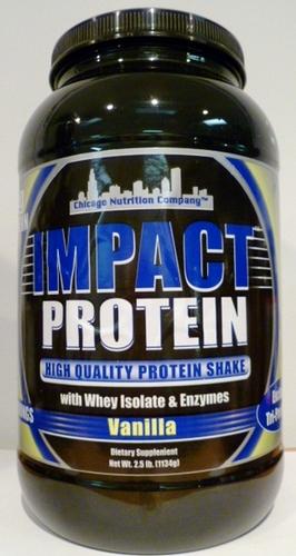 Impact Protein - Vanilla - 2.5 lbs.