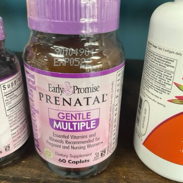 Prenatal Gentle Multiple 60 cap