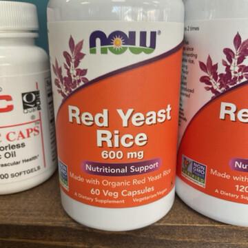 Red Yeast Rice 600mg (60 Vegicaps)