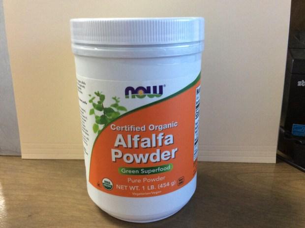 Alfalfa Powder Greens 1lb