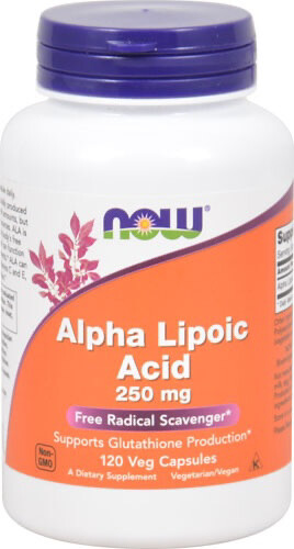 Alpha Lipoic Acid 250mg (60 Vegicaps)