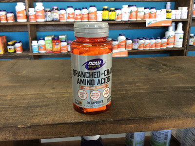 Branched-Chain Amino Acids 60ct