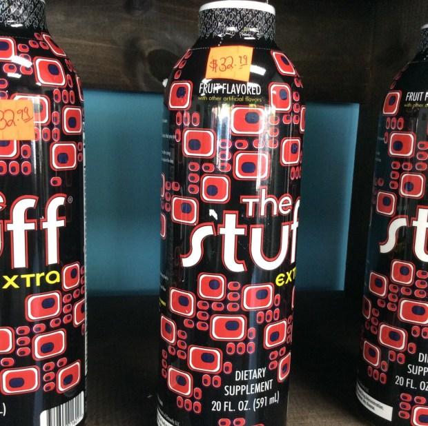 The Stuff extra Fruit Punch 20oz.