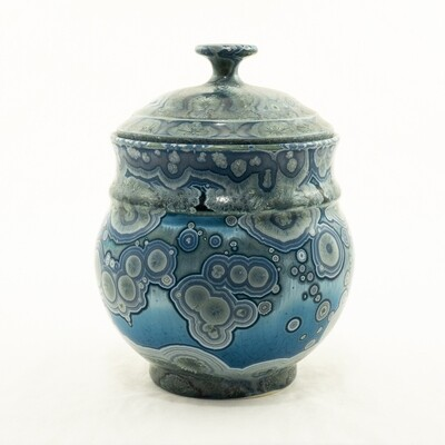 Crystalline Glaze Sugar Bowl by Andy Boswell #ABP20305